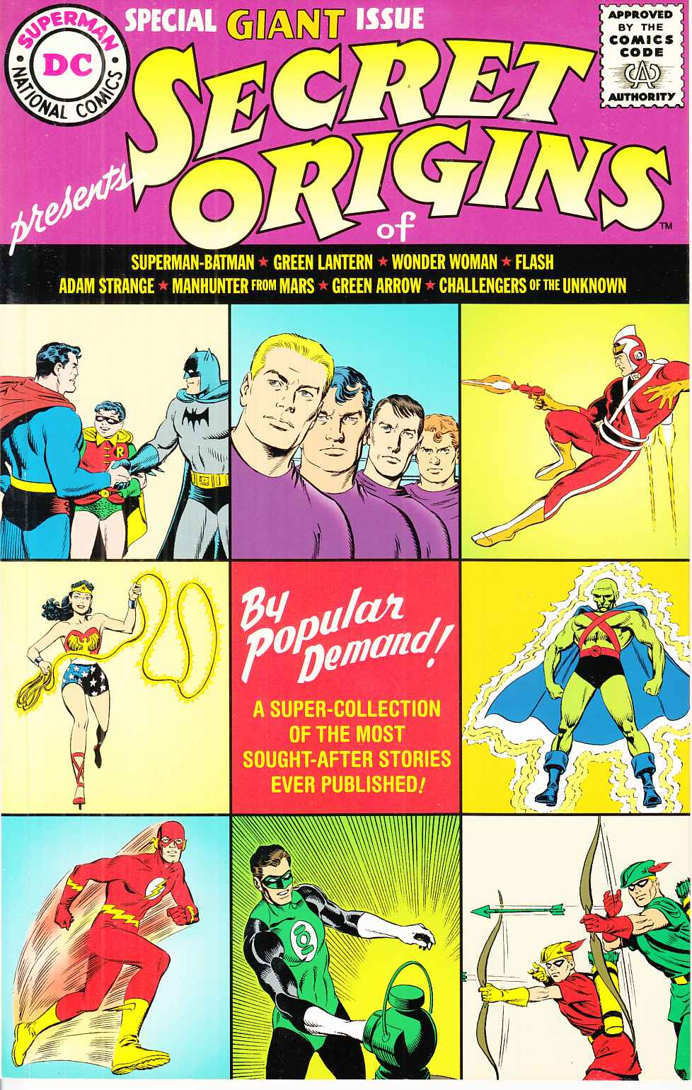 Secret Origins 1961 Replica Edition Near Mint (9.4) [DC Comic]_THUMBNAIL