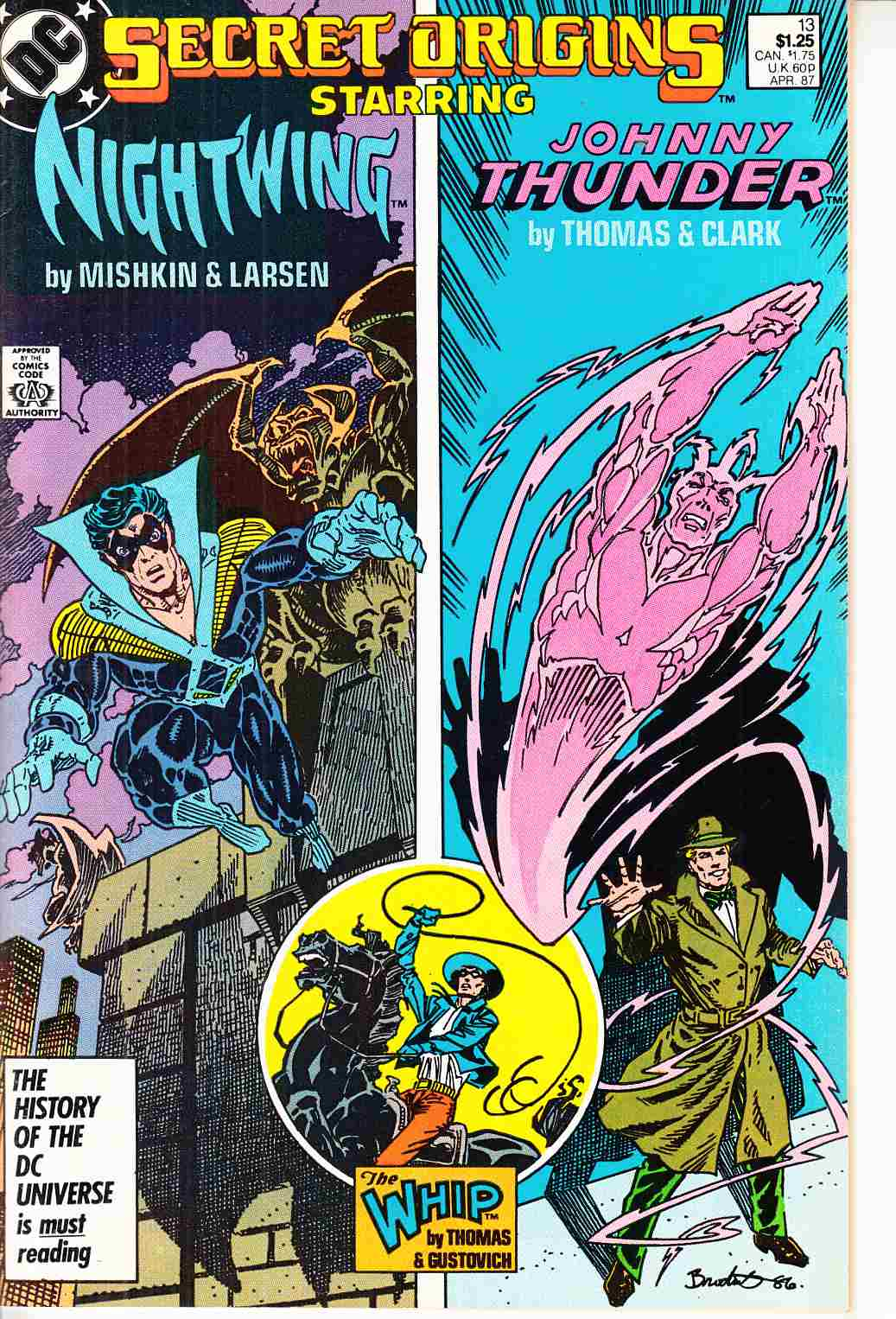Secret Origins #13 Near Mint Minus (9.2) [DC Comic] THUMBNAIL