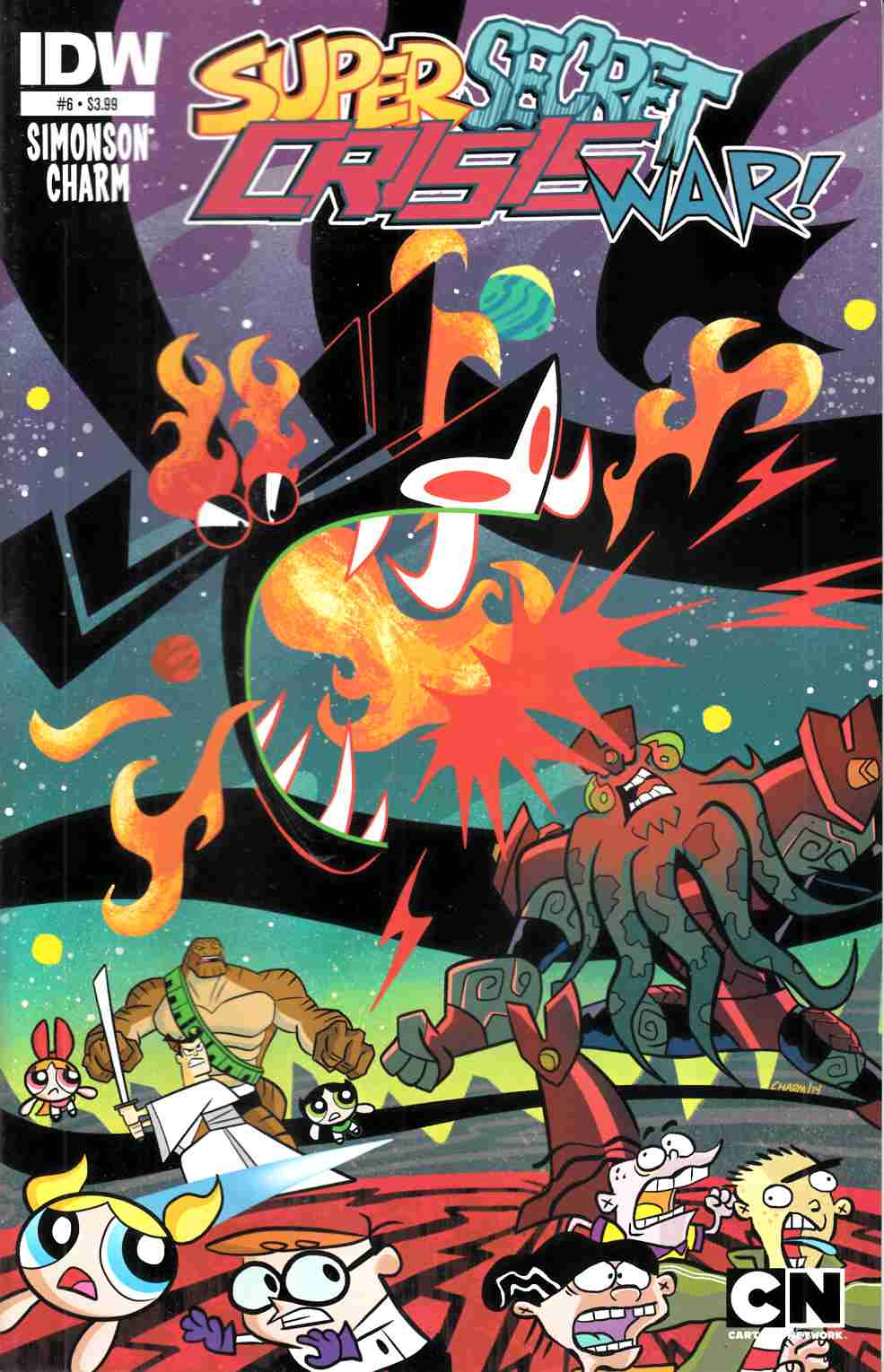 Cartoon Network Super Secret Crisis War #6 [IDW Comic] THUMBNAIL