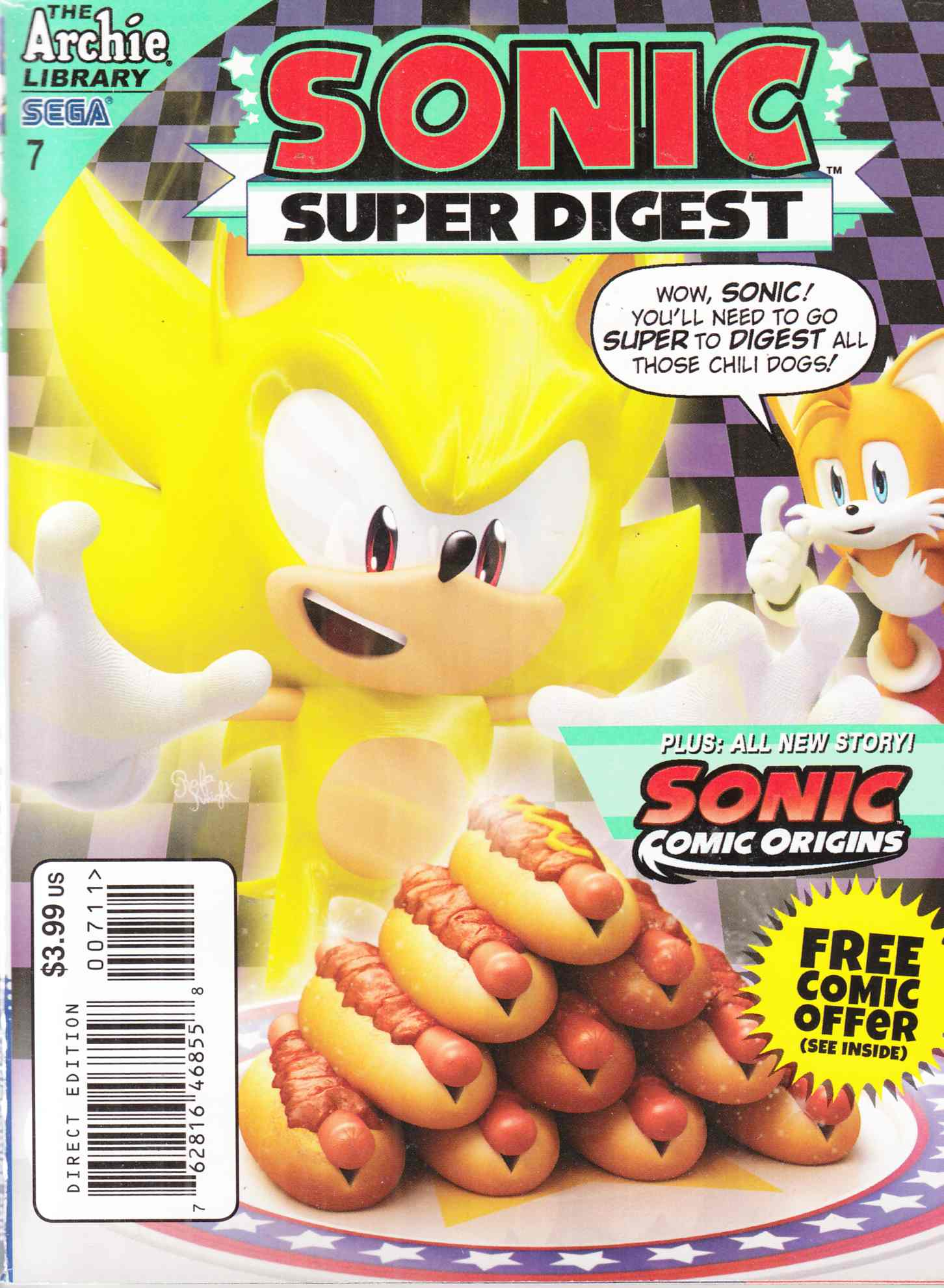 Sonic Super Digest #7 Near Mint Minus (9.2) [Archie Comic]_THUMBNAIL