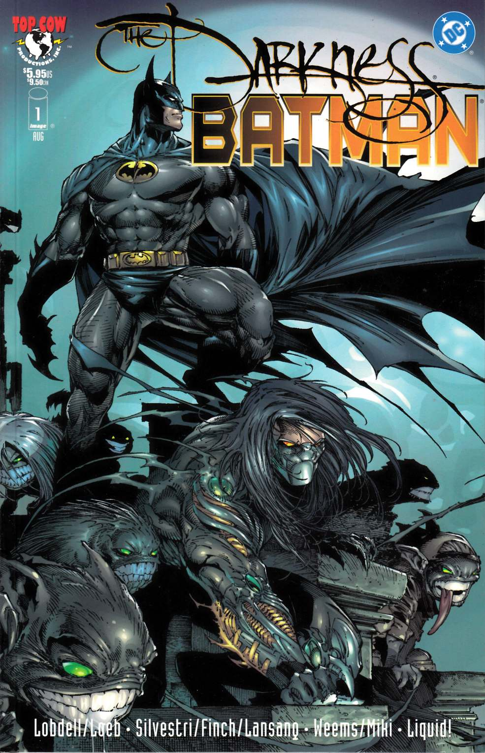 Darkness Batman (One Shot) Near Mint Minus (9.2) [DC Comic] THUMBNAIL