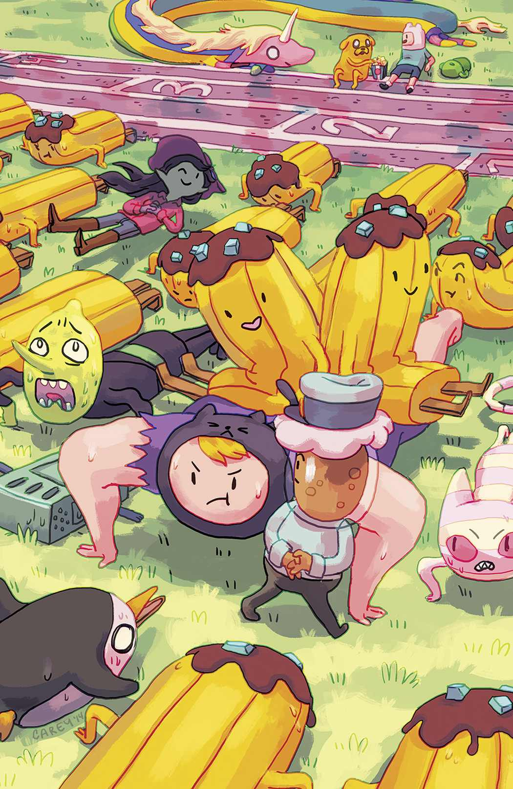 Adventure Time Banana Guard Academy #4 Cover B Pietsch [Comic]