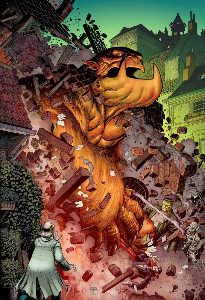 Uncanny Inhumans #1 Kirby Monster Variant Cover [Marvel Comic] THUMBNAIL