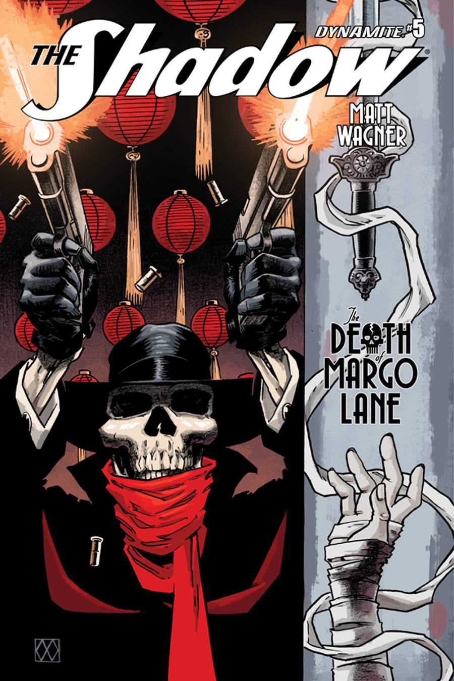 Shadow Death of Margo Lane #5 [Dynamite Comic]