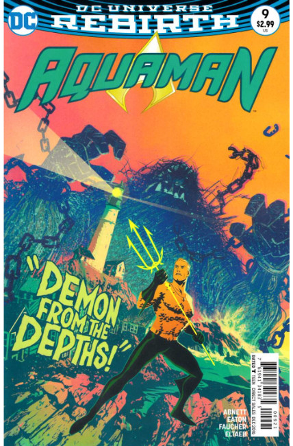 Aquaman #9 Middleton Variant Cover [DC Comic] THUMBNAIL