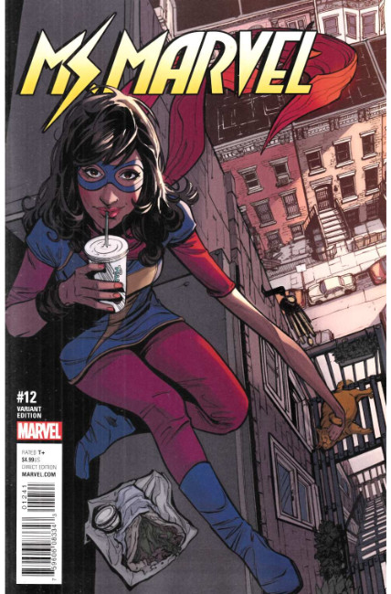 Ms Marvel #12 Joëlle Jones Variant Cover [Marvel Comic] LARGE