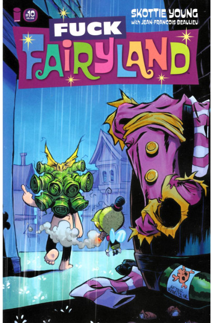 I Hate Fairyland #10 F*ck (Uncensored) Fairyland Variant Cover [Image Comic] THUMBNAIL