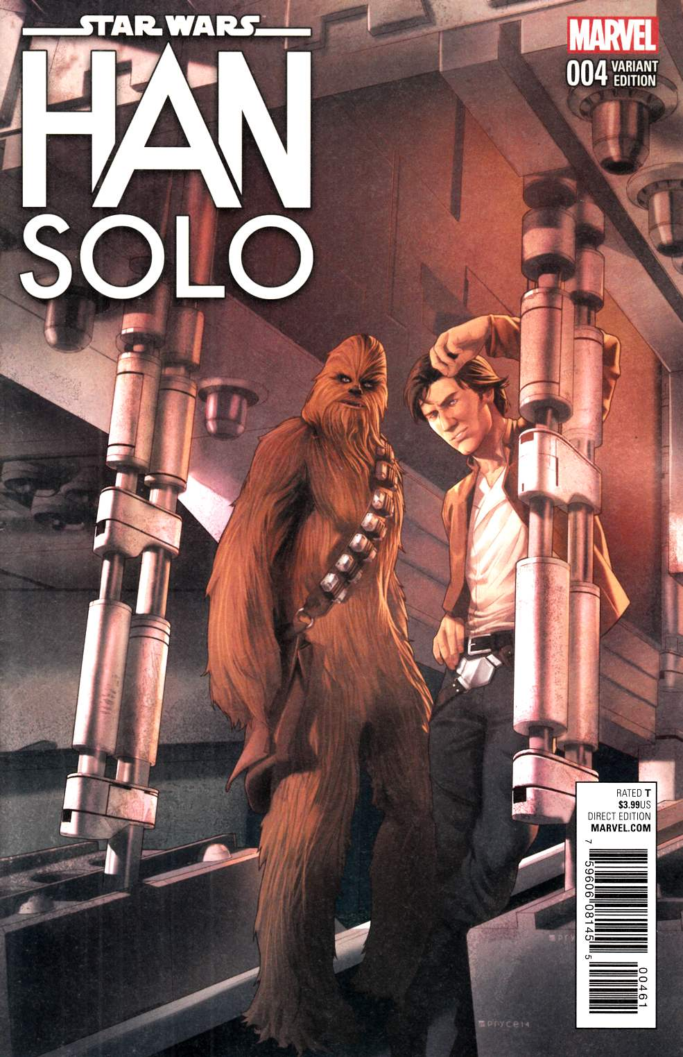 Star Wars Han Solo #4 Jamal Campbell Variant Cover [Marvel Comic] LARGE