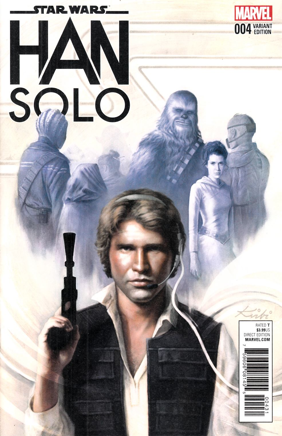 Star Wars Han Solo #4 Fagan Variant Cover [Marvel Comic] LARGE