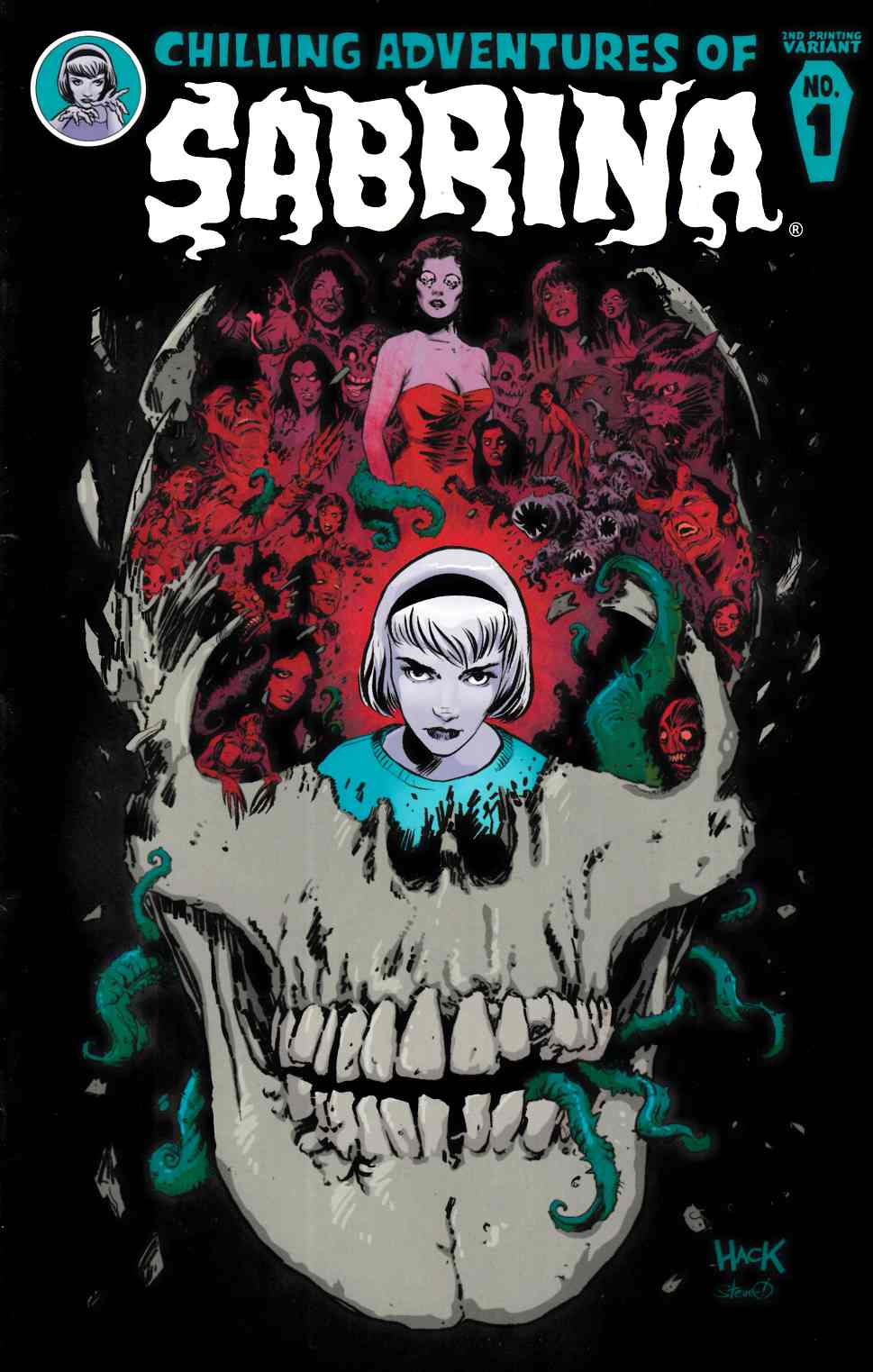Sabrina #1 Second Printing [Archie Comic]_THUMBNAIL