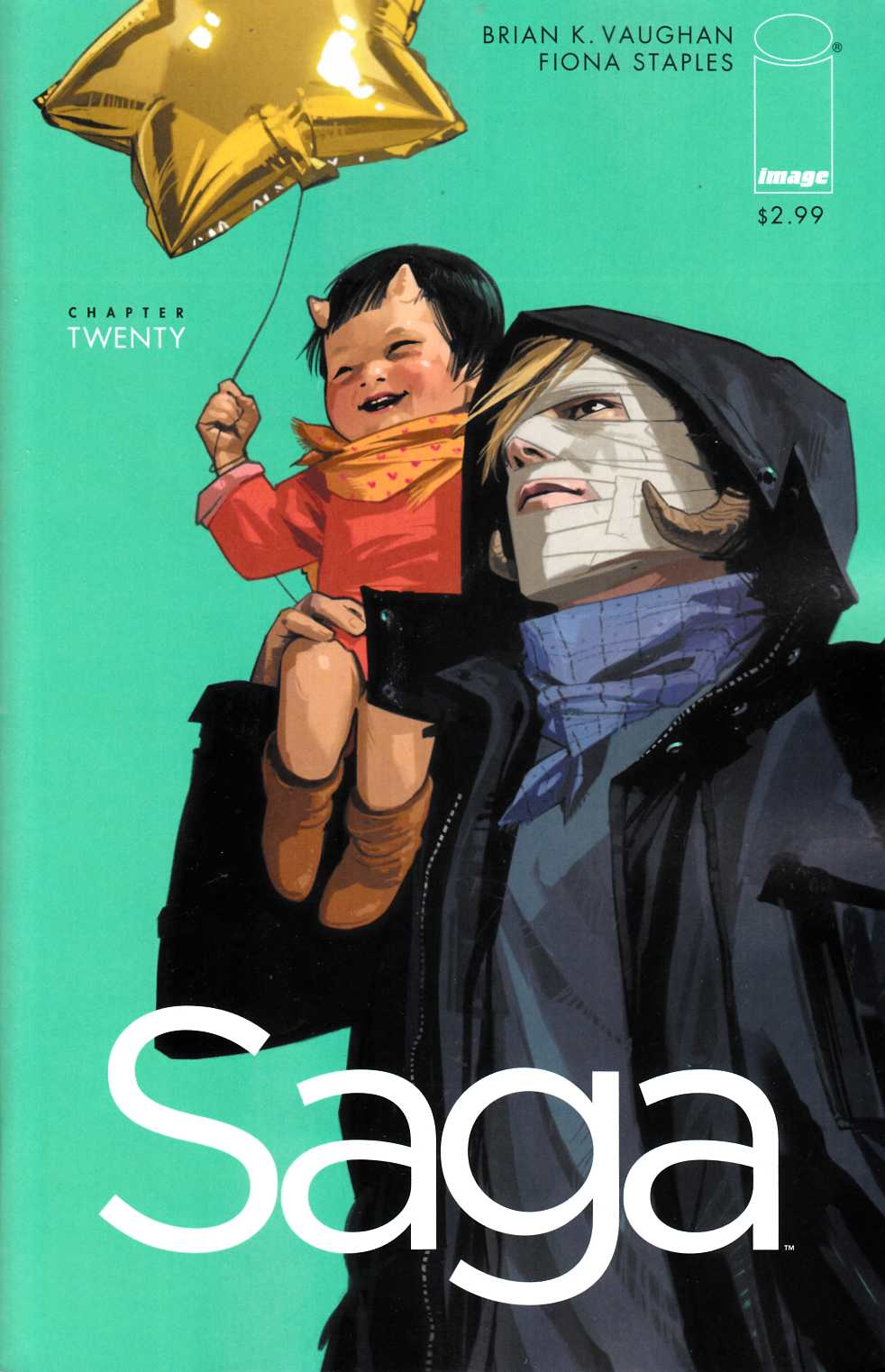 Saga #20 Near Mint (9.4) [Image Comic] THUMBNAIL