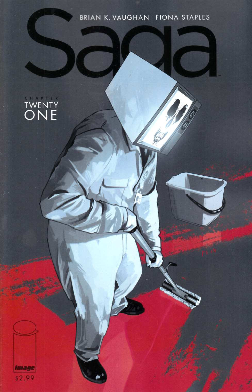 Saga #21 Near Mint (9.4) [Image Comic] THUMBNAIL