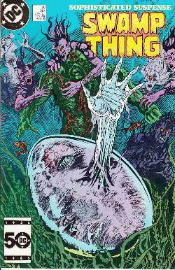 Saga of the Swamp Thing #39 Near Mint Minus (9.2) [DC Comic] LARGE