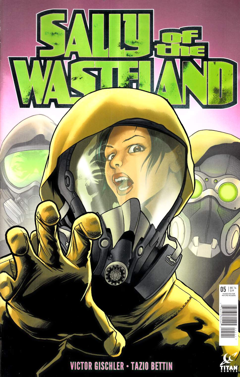 Sally Of The Wasteland #5 [Titan Comic] THUMBNAIL