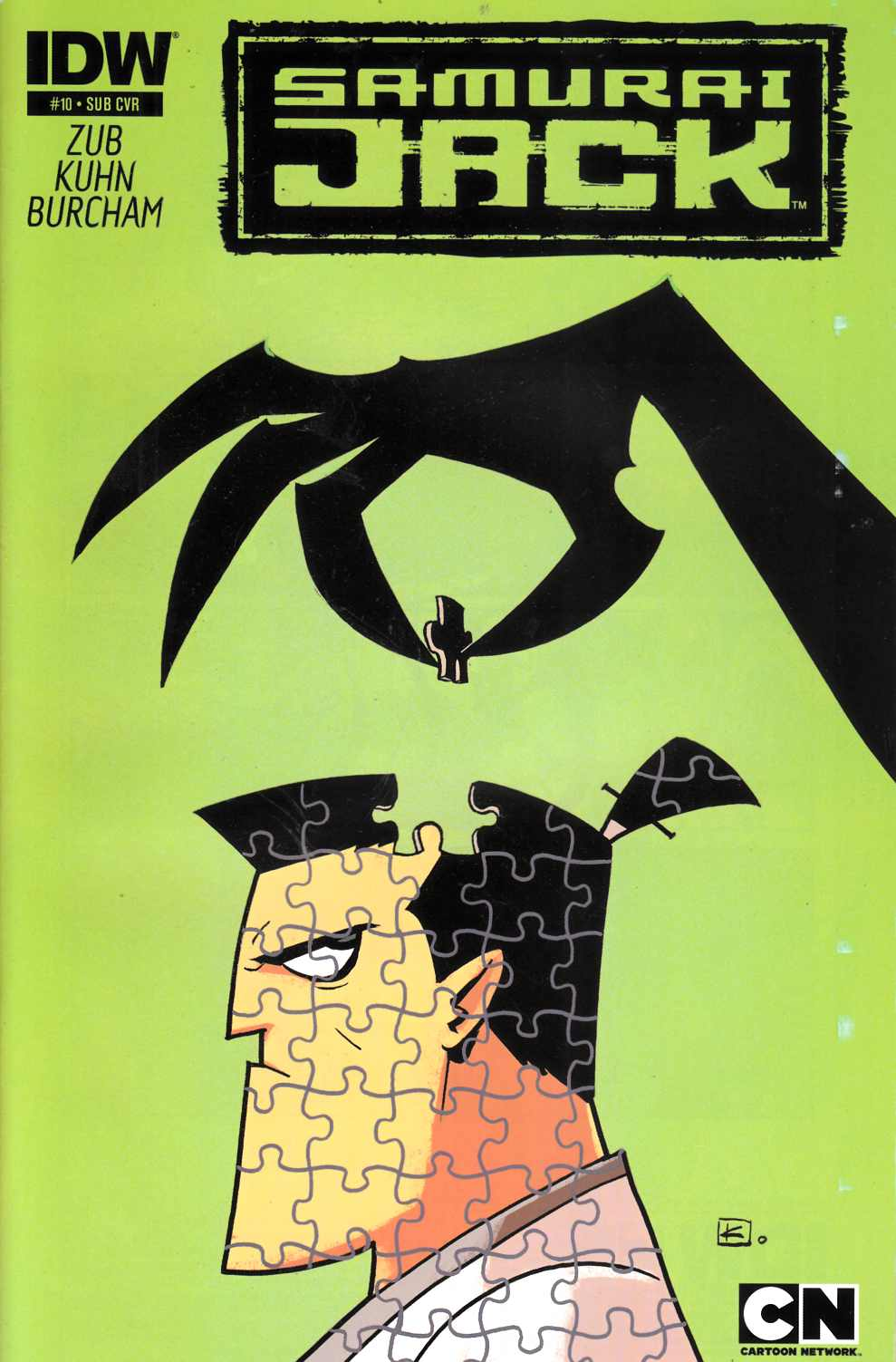 Samurai Jack #10 Subscription Cover [Comic]_THUMBNAIL
