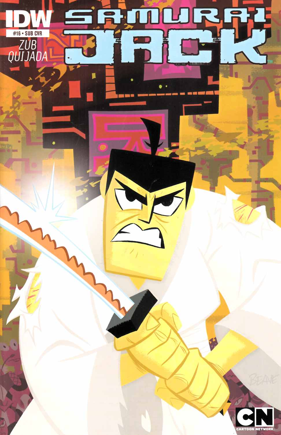 Samurai Jack #16 Subscription Cover [IDW Comic] THUMBNAIL