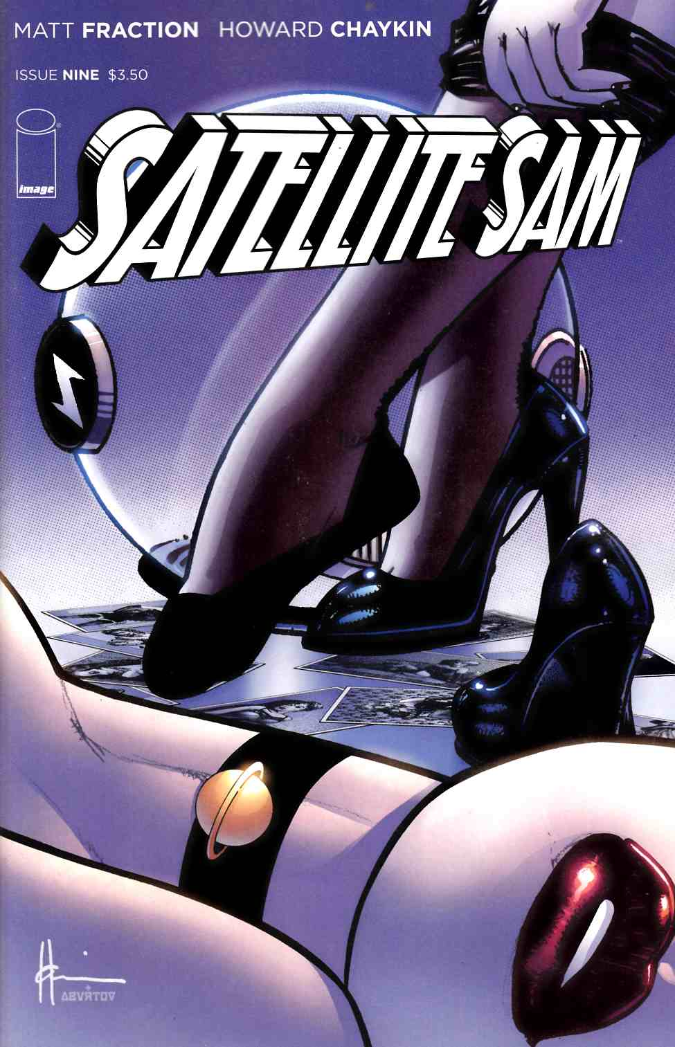 Satellite Sam #9 [Comic] THUMBNAIL