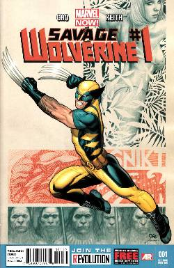 Savage Wolverine #1 Second Printing (Now) [Comic]