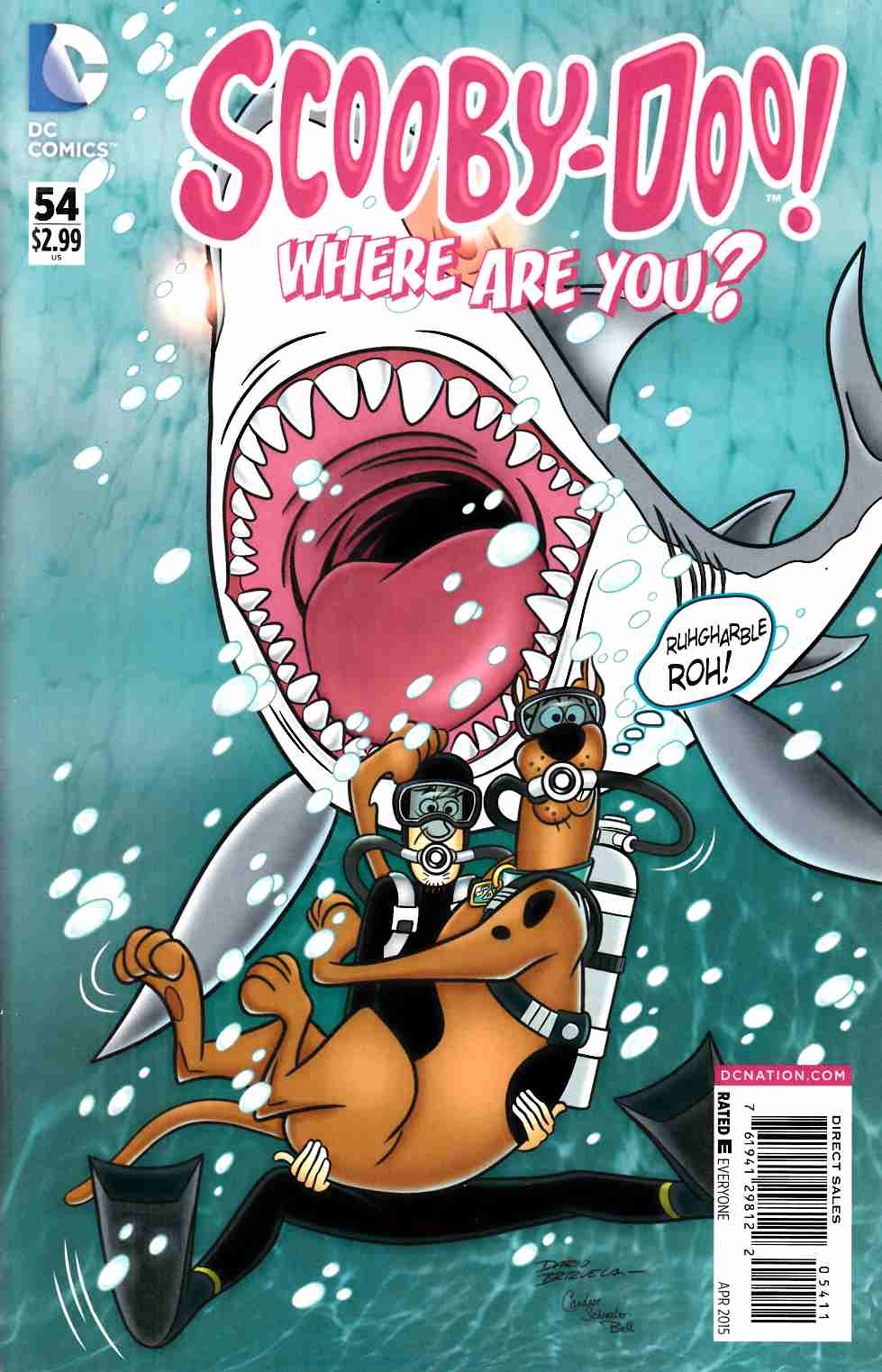 Scooby Doo Where Are You #54 [DC Comic] THUMBNAIL