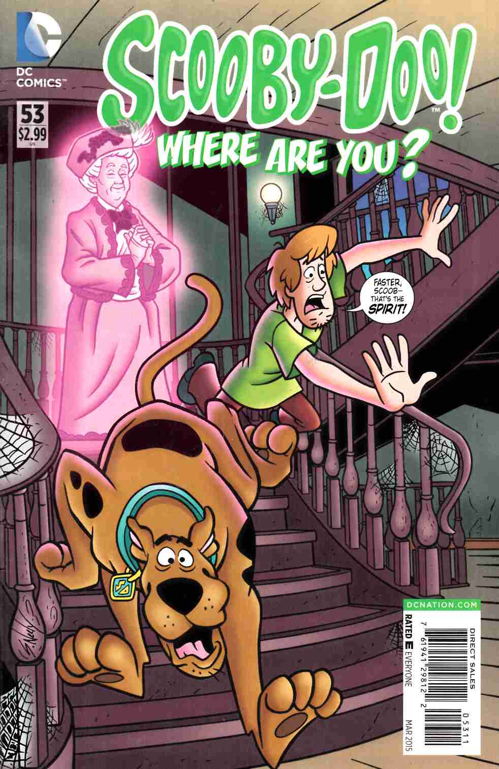 Scooby Doo Where Are You #53 [DC Comic] LARGE