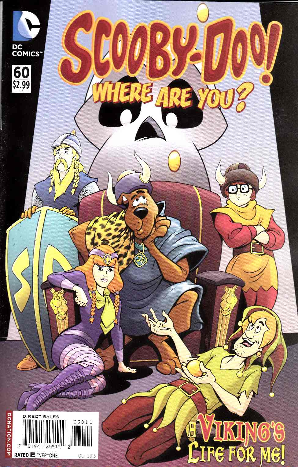 Scooby Doo Where Are You #60 [DC Comic] THUMBNAIL