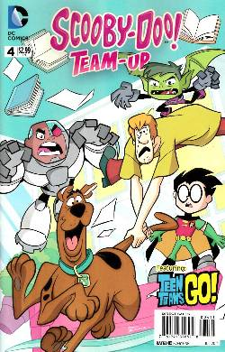 Scooby Doo Team Up #4 [Comic] LARGE