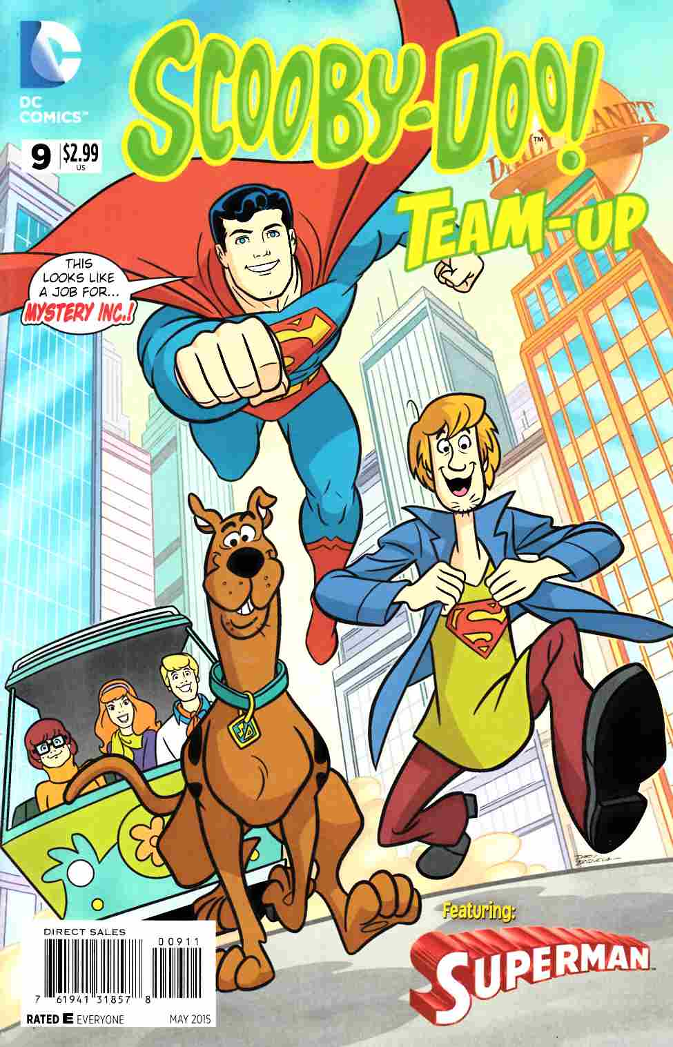 Scooby Doo Team Up #9 [DC Comic] THUMBNAIL