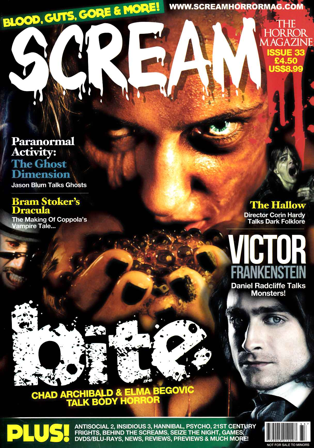 Scream Magazine #33 [Screen Power Magazine]