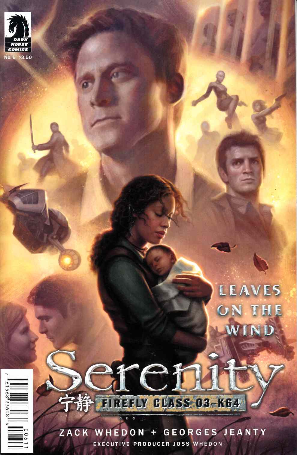 Serenity Leaves on the Wind #6 [Dark Horse Comic] THUMBNAIL