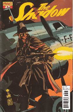Shadow #6 Francavilla Cover [Comic] LARGE