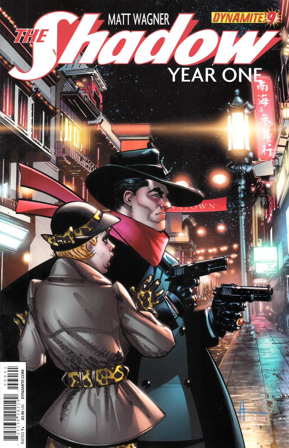 Shadow Year One #9 Cover D- Chaykin [Comic] LARGE