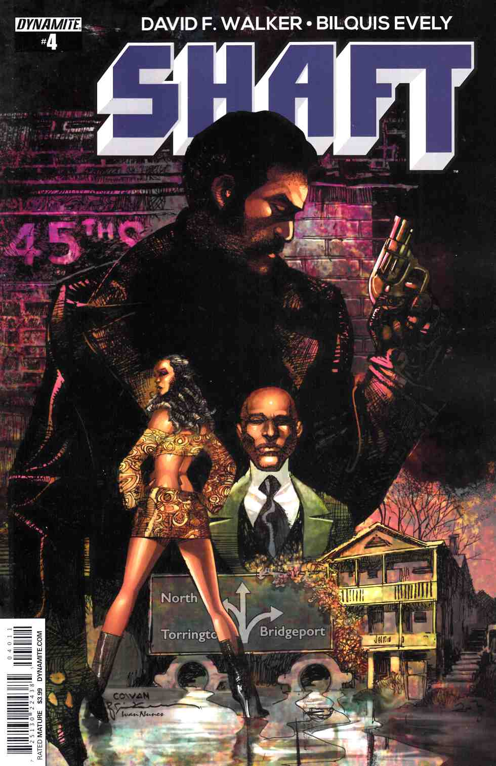 Shaft #4 Cover A- Cowan [Dynamite Comic]