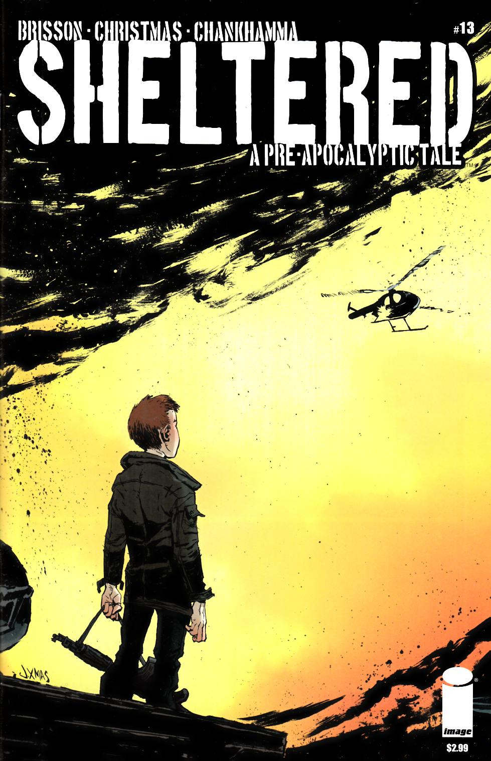 Sheltered #13 [Image Comic] LARGE
