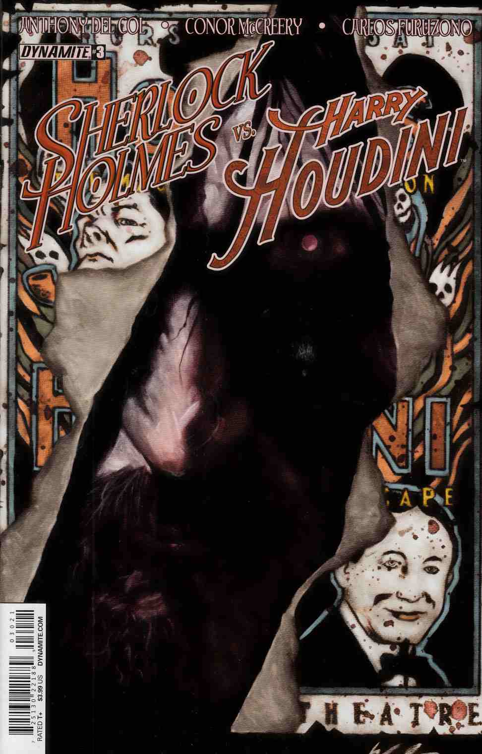 Holmes Vs Houdini #3 Cover B- Worley Variant Cover [Dynamite Comic] THUMBNAIL
