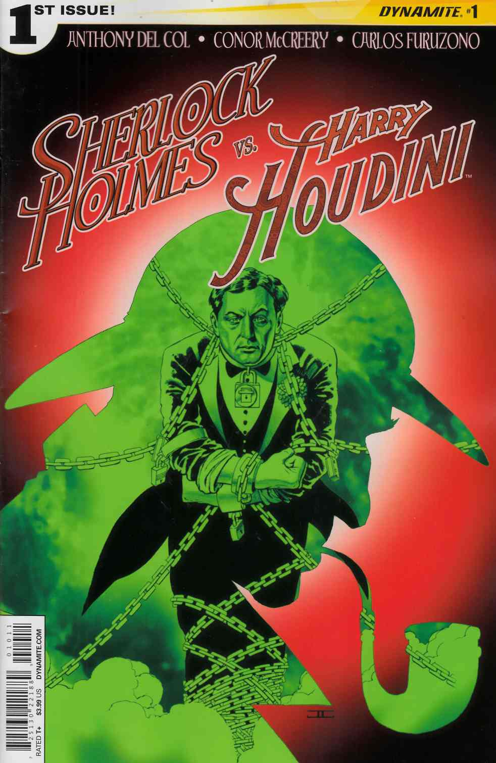 Holmes vs Houdini #1 Cassaday Cover [Comic] THUMBNAIL