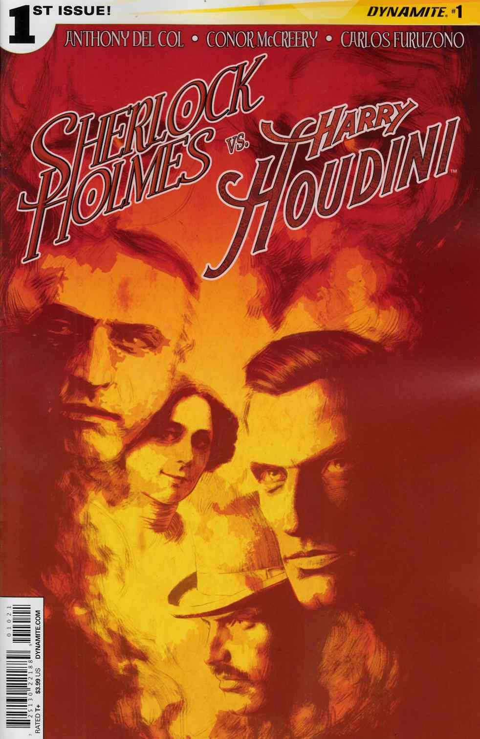 Holmes vs Houdini #1 Cover A- Campbell [Comic] THUMBNAIL