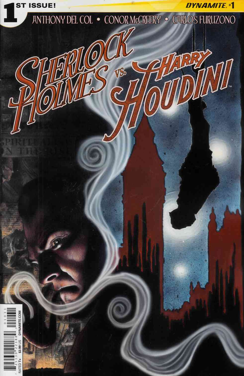 Holmes vs Houdini #1 Cover B- Worley [Comic] LARGE