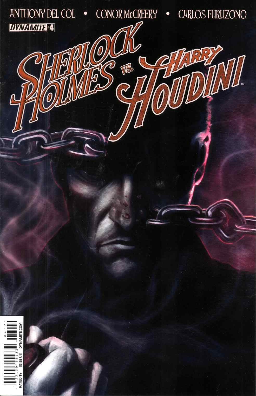 Holmes Vs Houdini #4 Cover B- Worley [Dynamite Comic] THUMBNAIL