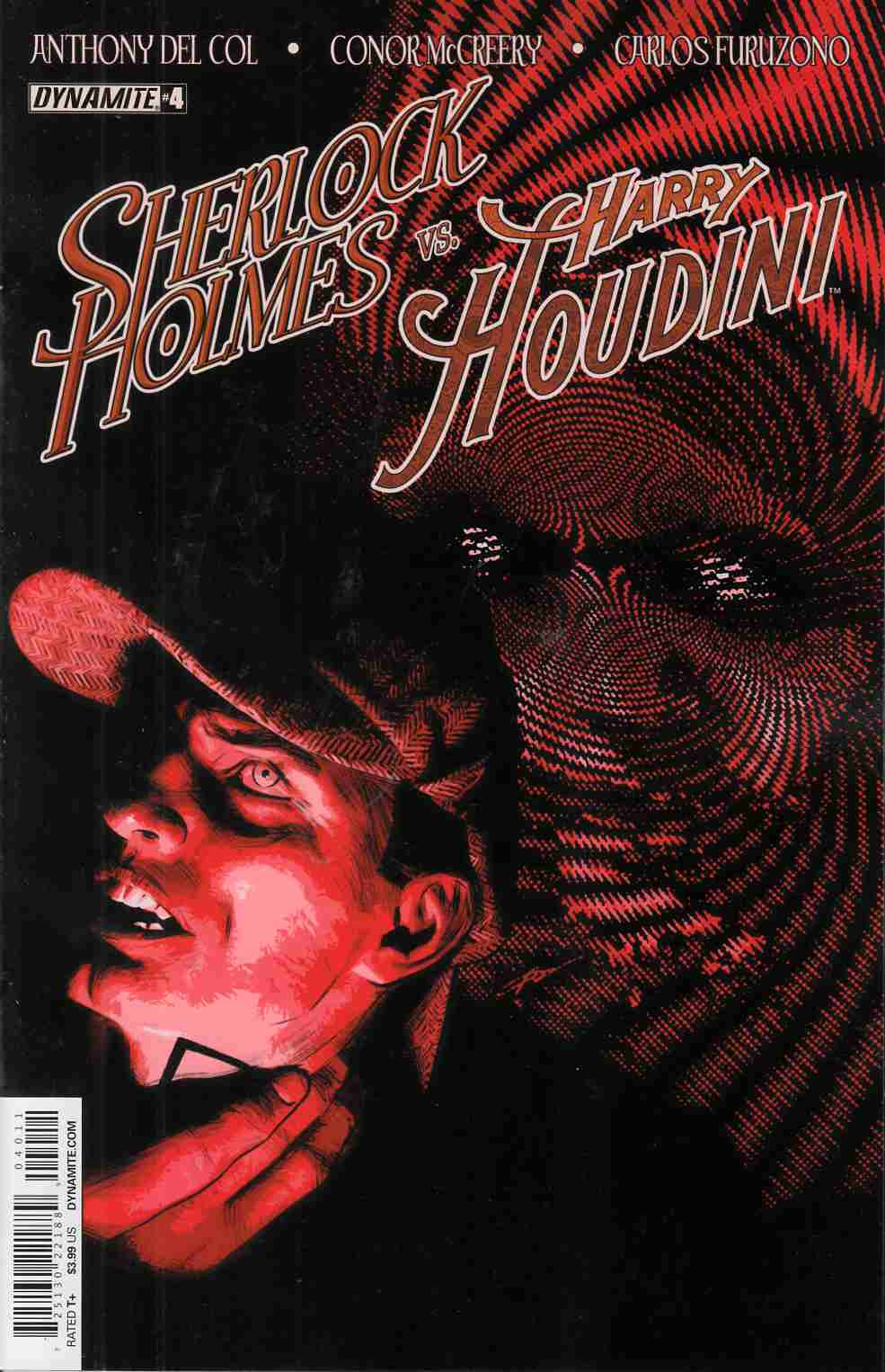 Holmes Vs Houdini #4 Cover A- Campbell [Dynamite Comic]