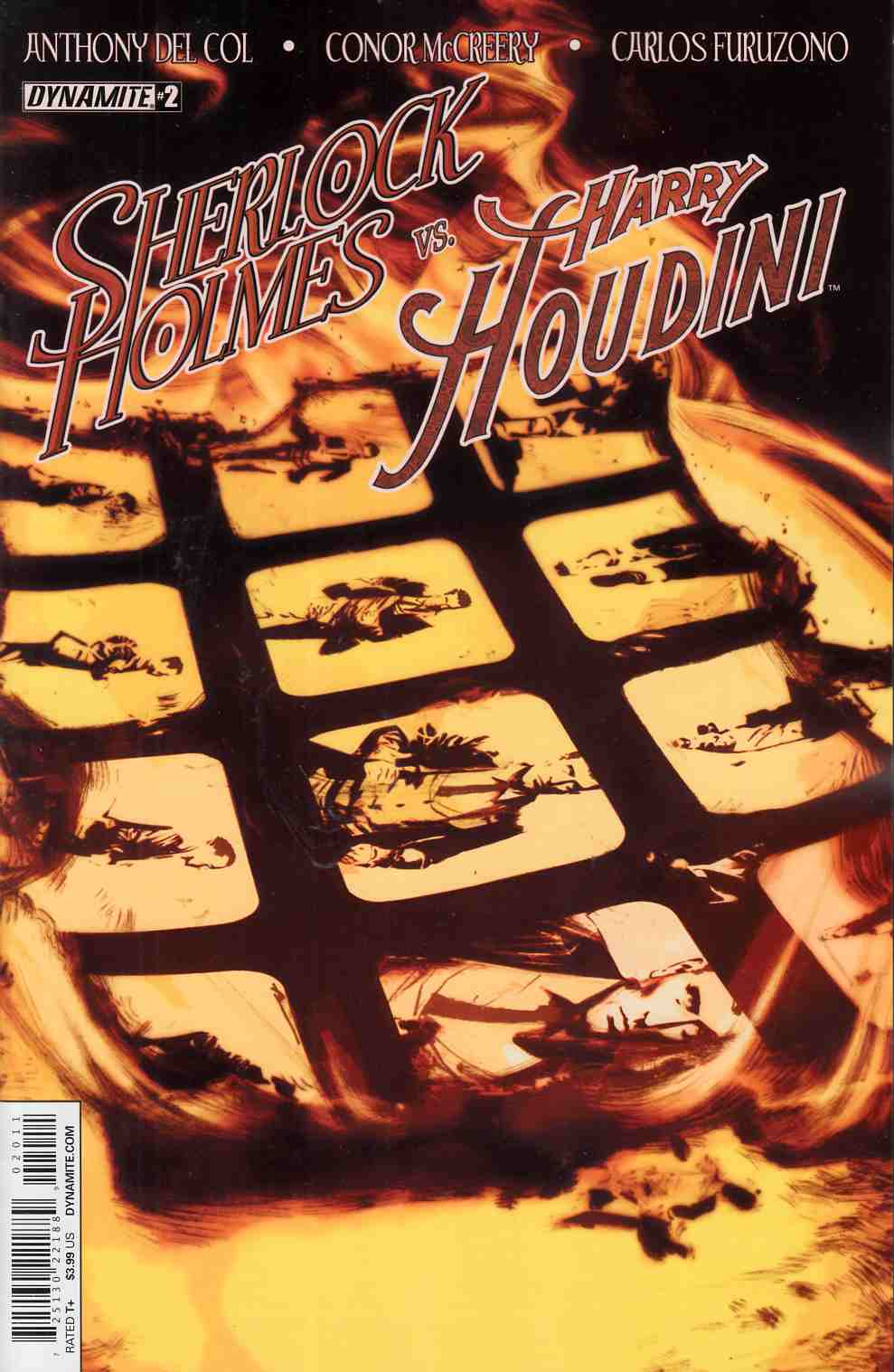 Holmes vs Houdini #2 Cover A- Campbell [Comic] THUMBNAIL