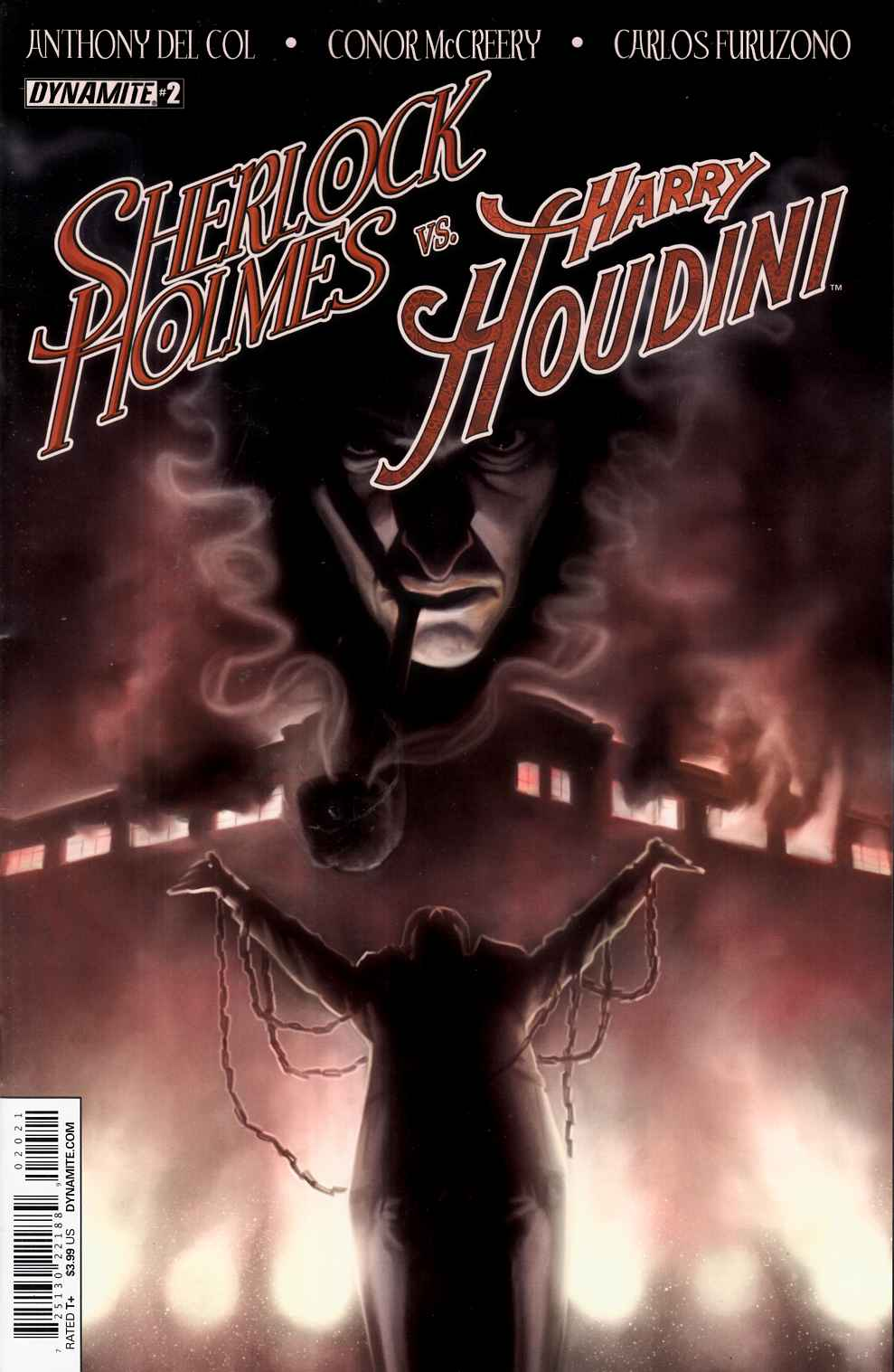 Holmes vs Houdini #2 Cover B- Worley [Dynamite Comic] LARGE