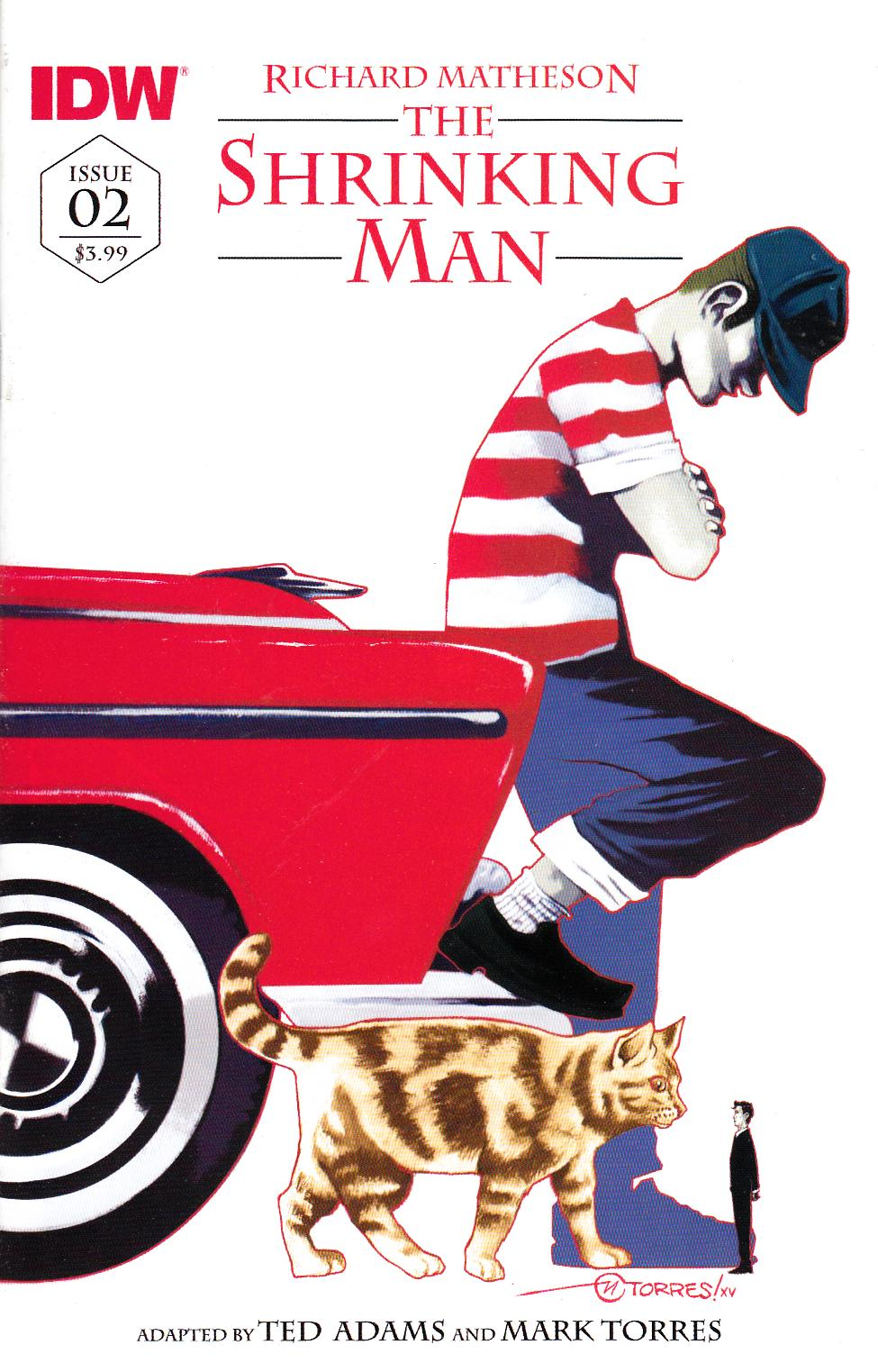 Shrinking Man #2 Subscription Cover [IDW Comic]