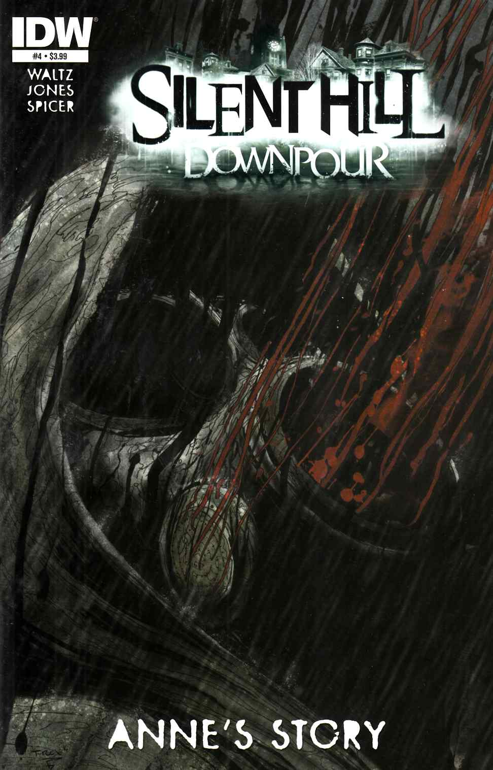 Silent Hill Downpour Annes Story #4 [IDW Comic] LARGE