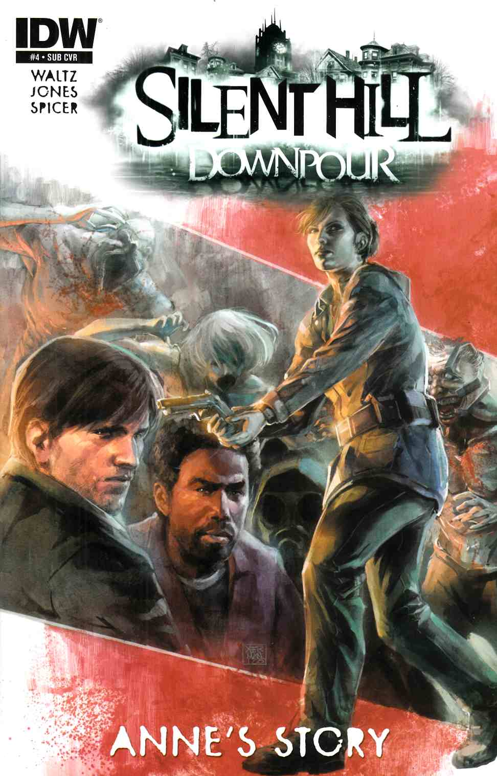 Silent Hill Downpour Annes Story #4 Subscription Cover [IDW Comic] THUMBNAIL