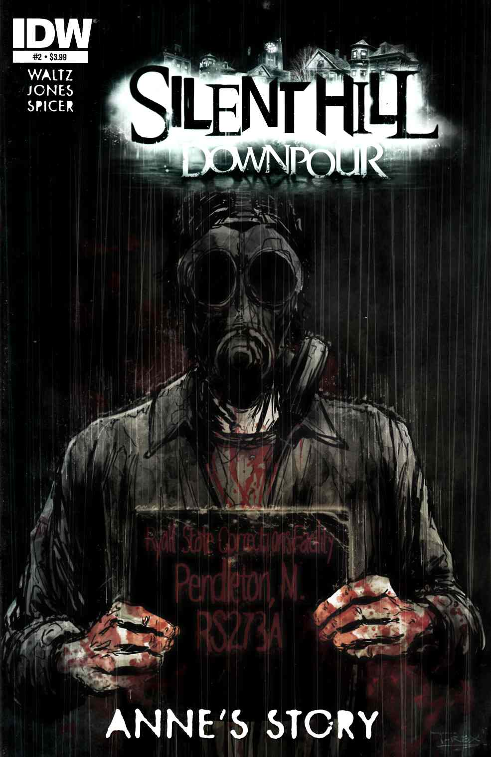Silent Hill Downpour Annes Story #2 [Comic] LARGE
