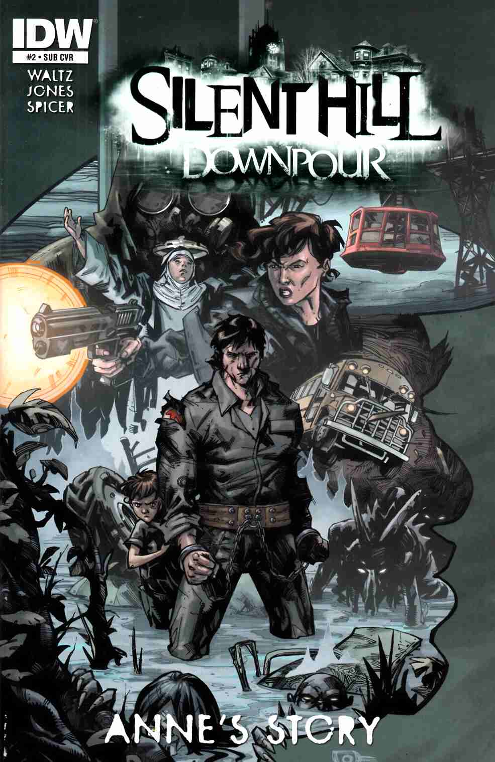 Silent Hill Downpour Annes Story #2 Subscription Cover [Comic] THUMBNAIL