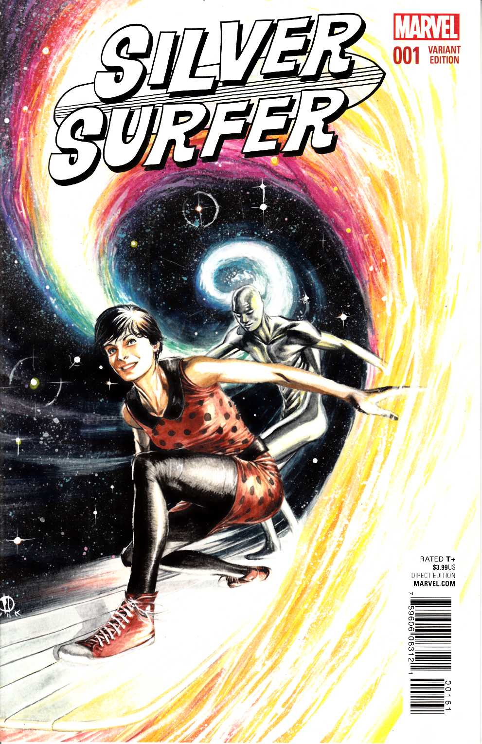 Silver Surfer #1 Rudy Variant Cover Near Mint (9.4) [Marvel Comic] LARGE