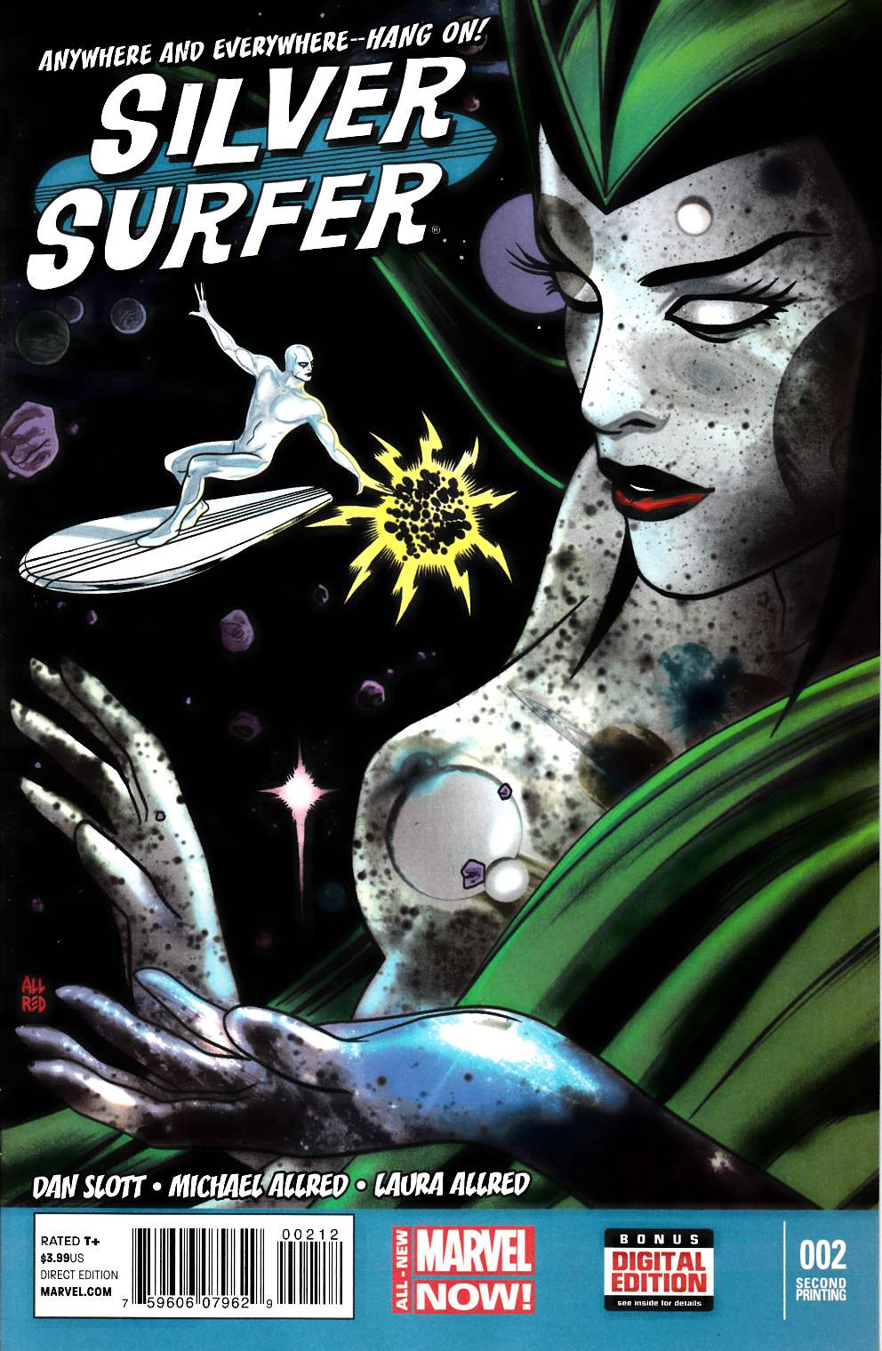 Silver Surfer #2 Second Printing [Comic] THUMBNAIL
