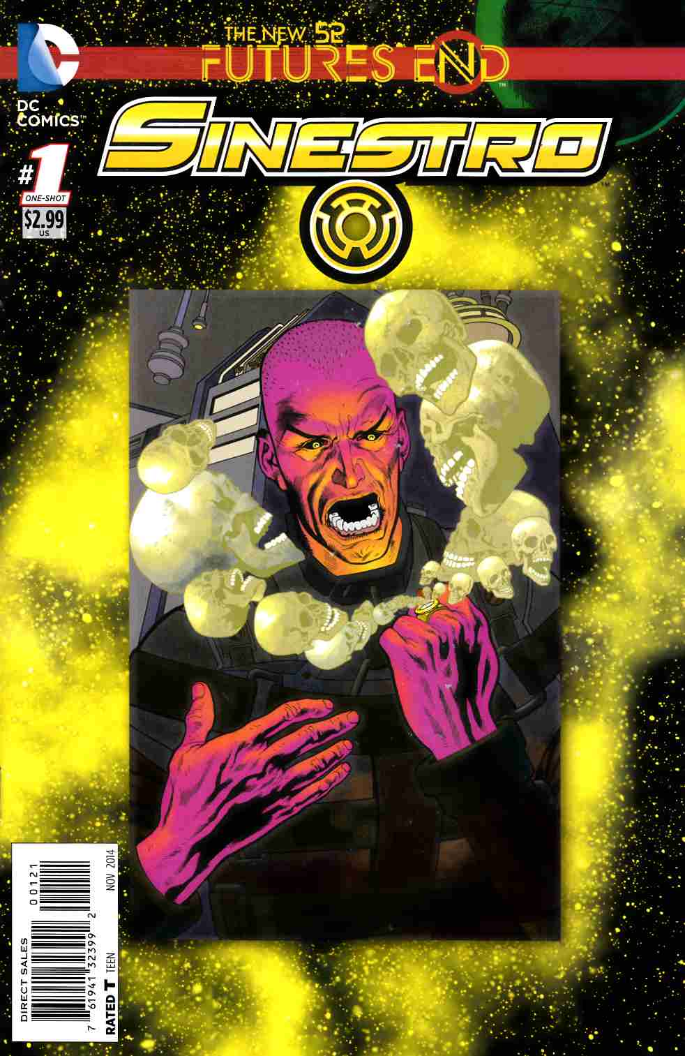 Sinestro Futures End #1 Standard Edition [Comic] THUMBNAIL