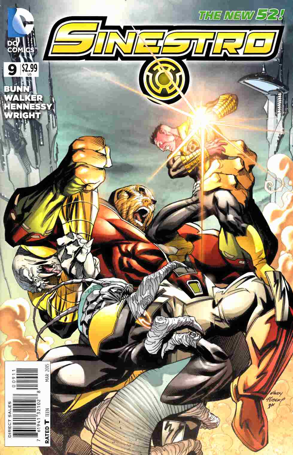 Sinestro #9 [DC Comic] LARGE
